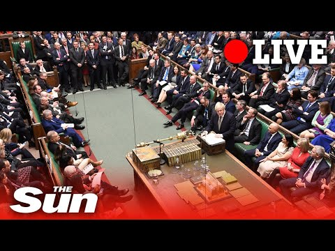 Parliament votes on second reading of Boris Johnson's Brexit Withdrawal Agreement | LIVE