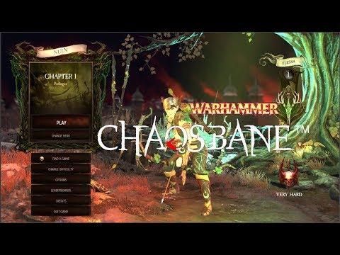 Prologue Warhammer Chaosbane Very Hard Chapter 1 part 1  