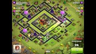 Clash of Clans Funneling witches