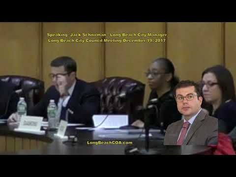 Long Beach City Council City Manager Update 12/19/17