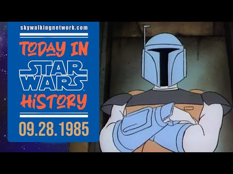 """TODAY IN STAR WARS HISTORY 9/28/1985: Boba Fett Returns in """"Droids"""" Episode """"A Race to the Finish"""""""