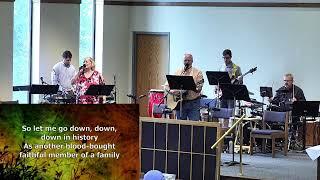 August 8, 2021- Sunday 11:00 Worship Service with Pastor Steve Cauley