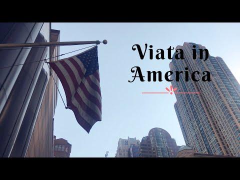 Viata in America | Plimbare, 3 minute in Downtown Chicago