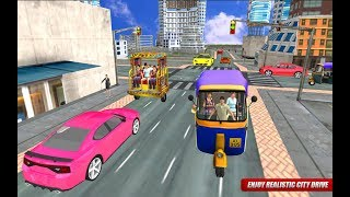 Tuk Tuk Auto Rickshaw Taxi Game || Tuk Tuk Auto Rickshaw game