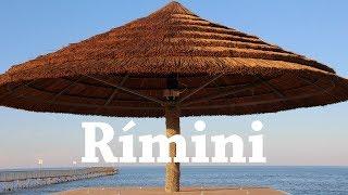 RIMINI: La playa más visitada de Italia | Viajando con Mirko