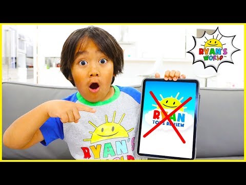 No More Ryan ToysReview....