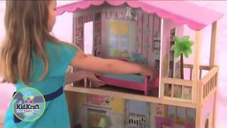 Girls Kidkraft Suite And Sunny Barbie Dollhouse 65184 Http   Wooden Toys Direct Co Uk
