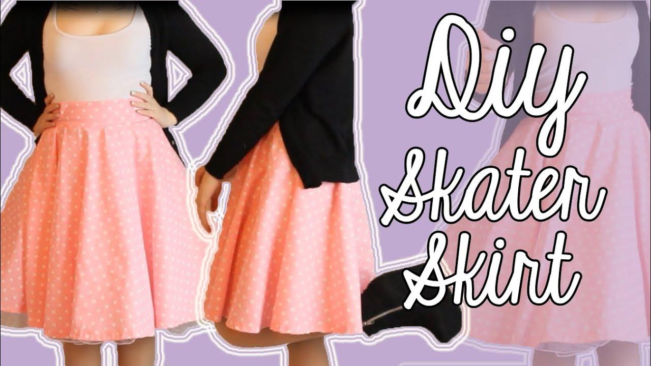 how to make a skater skirt diy