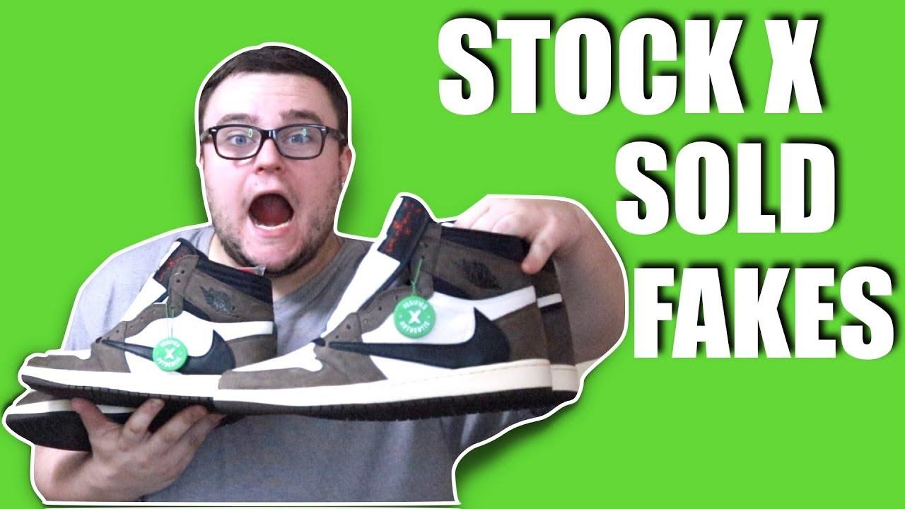 STOCKX SOLD ME FAKE TRAVIS SCOTT JORDAN