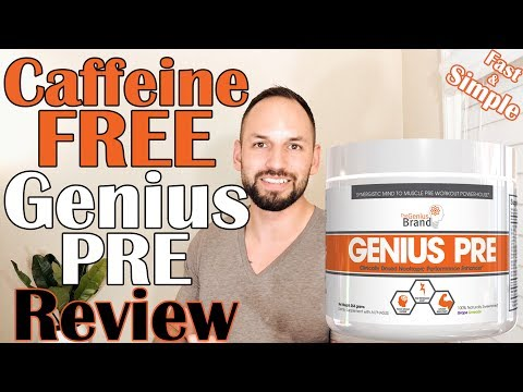 Genius Pre Workout by The Genius Brand Review (Caffeine Free)