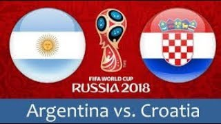 argentine vs Croatie all goals 21/06/2018  messi 😓😞