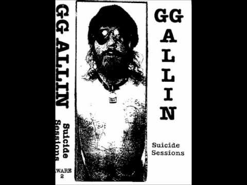 GG Allin - Can't Afford the Bail