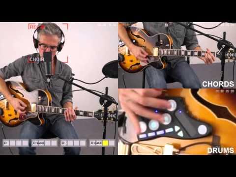 The Reflexive Looper: a musical AI companion