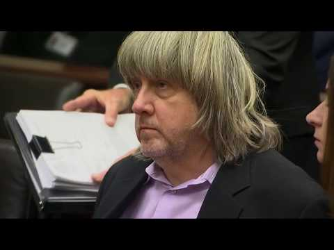 David and Louise Turpin, parents accused of imprisoning 13 children, make their court appearance