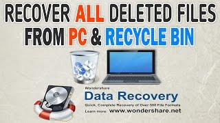Recover Deleted Files From PC,Pendrive,SD Cards,Recycle Bin & More - Wondershare Data Recovery