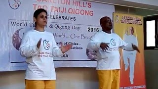 Cultivating Hands to Heal with Carlton Hill- 7th World Tai Chi & Qigong Day 2016, Mumbai,India