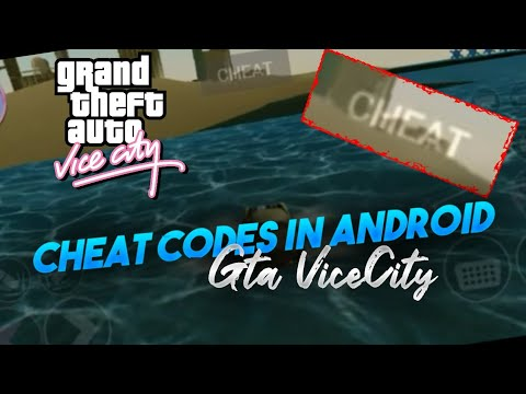#2 Enter Cheat Codes In GTA VICE City On Android Devices
