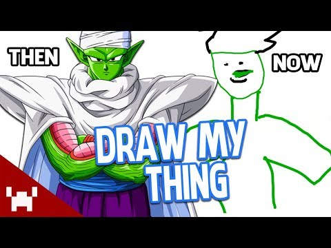 THIS IS PICCOLO NOW. FEEL OLD YET? | Draw My Thing w/ Friends