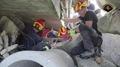 Übung Trümmerrettung in Wangen an der Aare vom 05.06.2019