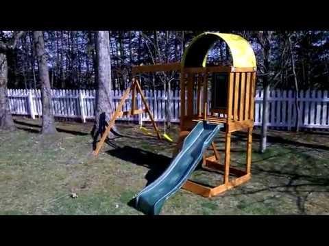 Kidcraft Ainsley Playground Build.