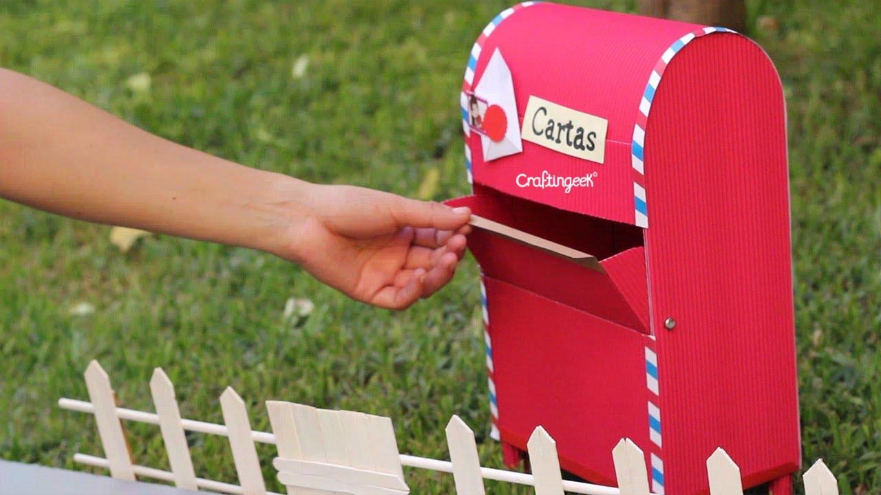 Tu Para Haz Diy Buzon Propio Cartas Mailbox E29IDH