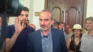 Ժիրայր Սեֆիլյանի առաջին րոպեները ազատության մեջ