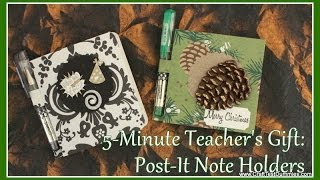Gambar cover Post-It Note Holder: 5-Minute Gifts!