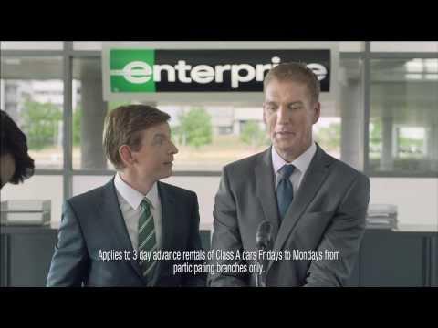 Enterprise 'Weekend Game Face' & 'Weekend Loud Speaker'