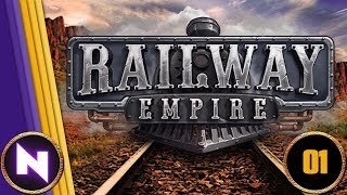 Lets Play Railway Empire - Chapter 1 - THE GREAT PLAINS - Part 1