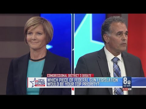 Congressional debate between Susie Lee and Danny Tarkanian