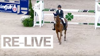RE-LIVE | FEI Jumping Ponies' Trophy |Stuttgart | Warm Up Competition