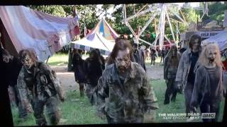 "The Walking Dead - Season 7 ""Say Yes"" Rick and Michonne Battle Walkers"