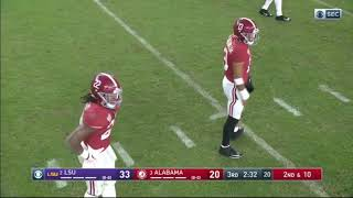 Tua Tagovailoa (#13 Alabama QB) VS LSU (2019) (All Snaps)