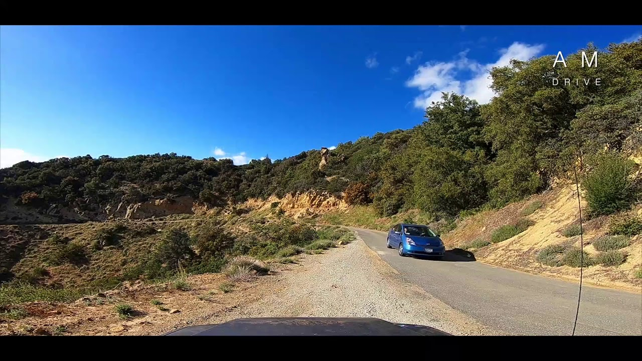 Pine Mountain Ridge Road | Los Padres National Forest | Reyes Peak  Campground | California Driving