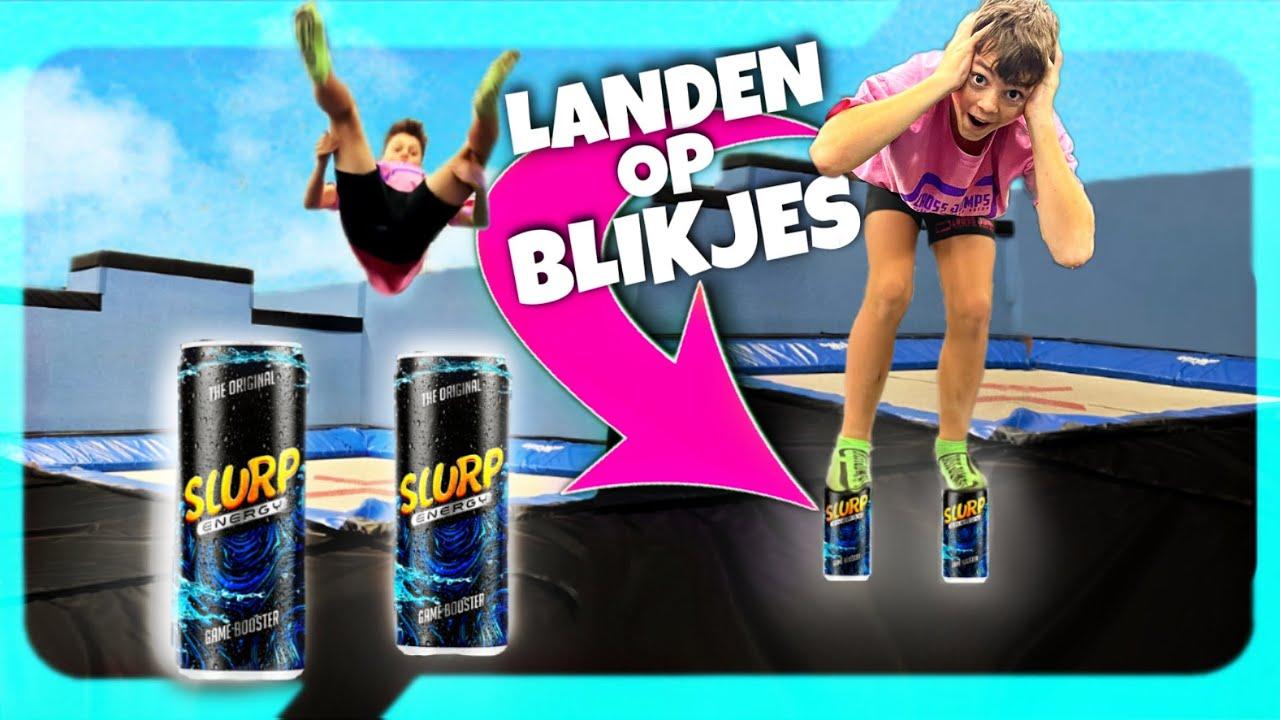 BLIKJES ENERGY DRINK CHALLENGE! Cross Jumps