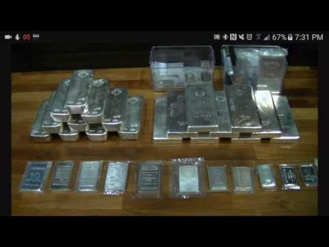 Silver Stack Large or Small Silver Bars.  Which is Better?
