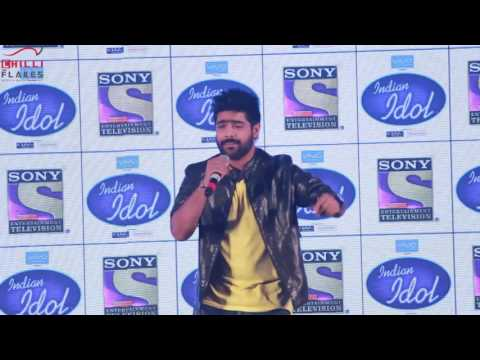 Bahubali Song- Manohari- Singer  Revanth Live Song At  Indian Idol (Season 9)