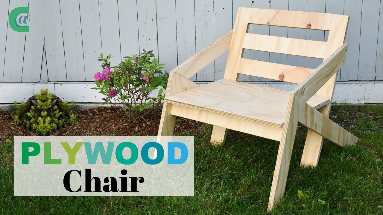 mid century modern plywood chair rocklerplywoodchallenge youtube rh youtube com Plywood Chair Mat Plywood Bench