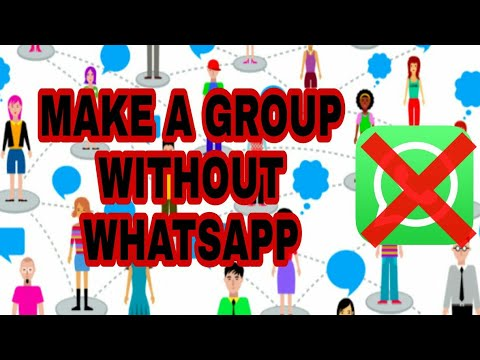 HOW TO MAKE GROUP CHAT IN MASSENGER! THE XPOSE
