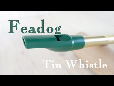 Feadog Tin whistle - Feadog ティン・ホイッスル D管