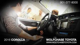 The 2016 Toyota Corolla | Wolfchase Toyota