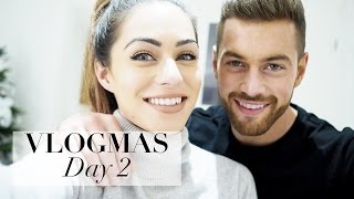 vlogmas day 2   clothes show shopping with ali lumi ruins christmas   lydia elise millen
