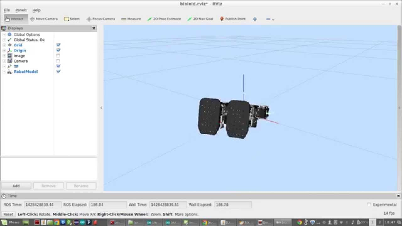 ROS robot orientation with IMU - Quaternion approach