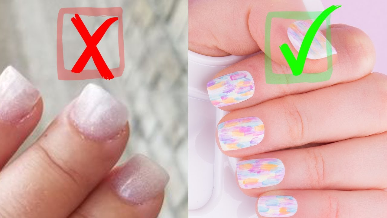 Best And Worst Nail Art Ideas For Short Nails Youtube