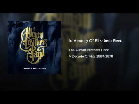 In Memory Of Elizabeth Reed