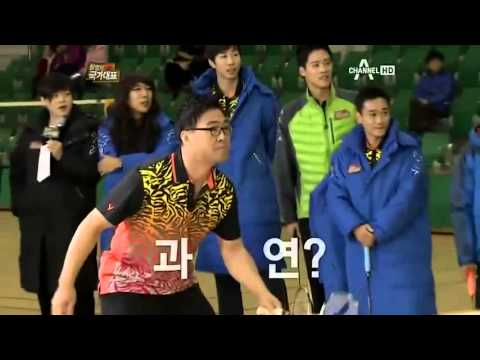 Simply Smash - Lee Yong Dae breaks watermelon with shuttlecock