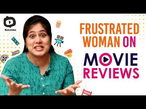 Frustrated Woman FRUSTRATION on Movie REVIEWS | #FrustratedWoman Telugu Web Series | Sunaina