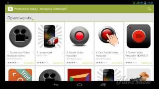 Как записывать экран планшета(Android)? - # Через что лучше снимать Screencast Pro или SСR Pro??