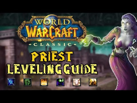 Classic WoW: Priest Leveling Guide 1-60