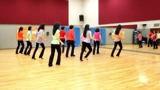 Talk To Me -  Line Dance (Dance & Teach in English & 中文)